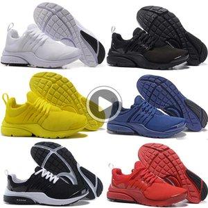 Presto 5 Koşu Ayakkabı Erkekler Kadınlar Mesh Üçlü siyah sarı beyaz mavi Presto Ultra BR QS Açık Casual Sport Trainer Sneakers SL40 kırmızı