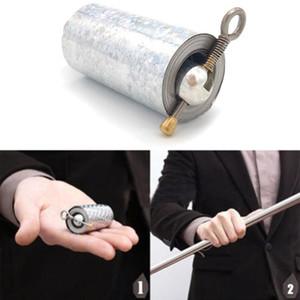 Newly Staff Portable Martial Arts Metallo Magic Pocket BO Staff - Nuovo Tasca di alta qualità Portable Puntelli Magic Puntelli regalo #