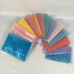 PVC Zipper Sealing Bag Gift Packaging Bags Inflatable Foam Cosmetics Storage Bags Shockproof Sealed Ziplock Bag 14 Designs BT645