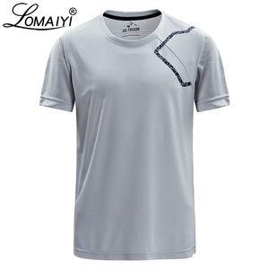 Мужские футболки Compression Mens Casual Футболки Summer Stretch дышащий Фитнес-Джерси Joggers Quick Dry Men T-Shirt