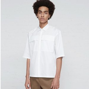 Men's Casual Shirts S-5XL ! 2021 Clothing GD Hair Stylist Fashion Summer Short Sleeved Shirt Work Clothes Male Plus Size Singer Costumes