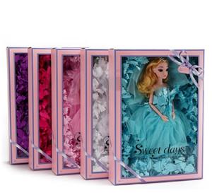 Nette Hochzeitspuppe Nette Barbie Puppe Baby Spielzeug Mädchen Geburtstagsgeschenk Room Dekoration 11 Arten Bunte Sammlung