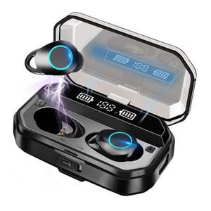 T19 Wireless Earbuds Headphones BT5.0 Wireless Earphones Charging Case Binaural Stereo Earbuds Earphone Bluetooth Headset