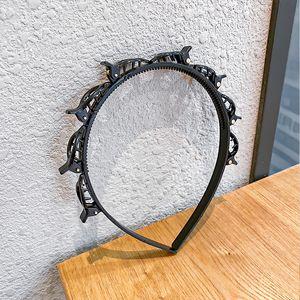 Schwarz Braider Bangs Hairpin Hair Männer Frauen Haarspange Unisex-Frisur Mehrgeschossige Weave Stirnband, das Werkzeug-Haar-Zusätze