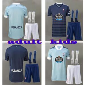 20 21 Celta Vigo adult Soccer Jerseys IAGO ASPAS 2020 2021 RC Celta de Vigo SMOLOV Camiseta de futbol NOLITO S.MINA kids Football Shirt suit