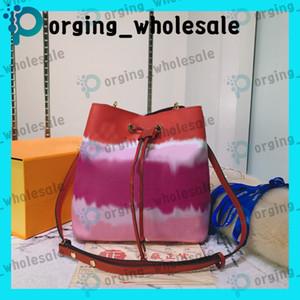 cubo bolsa con cordón al por mayor para las mujeres el bolso de hombro de cuero clásico de asas para hacer bolsos de la señora presbicia bolsa de mensajero bolsas de compras