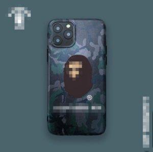 Designer Nuovo Frosted Simian Head Case del telefono di lusso morbida Iphon cassa del telefono di 11 Pro Max X XS 7P 8P Plus 7 8 2083102B