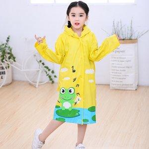 HpIM1 Frog split Breathable environmental raincoat breathable split raincoat PVC schoolbag with fashion waterproof protection batch