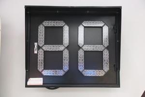 Горячий продавая Traffic LED Light 760x630mm Двухцветный Две цифры LED Таймер панели Traffic Прогрев Light 220V Singal