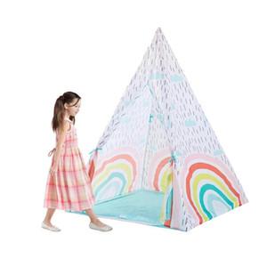 Schöne Himmel Regenbogen Spielzeug-Zelt glückliche Art-moderne Kinder Physical Training Chilren Spielen Amusement Castle