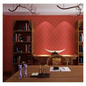 NewChinese Стиль Обои Backprint Классическая Zen Китайский стиль Ресторан Гостиная Благоприятный Cloud TV фон обои