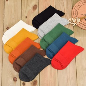 E2ynt New Cotton Xinmian 60011 Les chaussettes d'affaires de 6 affaires pour hommes chaussettes hommes 60011