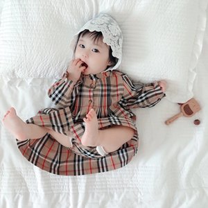 2020 nouveau bébé robe de fille avec les filles automne pour enfants de petites culottes vêtements à manches longues mignons de partie chaussures bébé robe de princesse 6 mois-4 ans