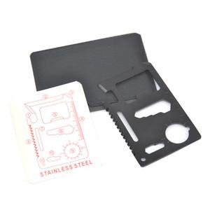 멀티 도구 야외 1 다기능 야외 사냥 서바이벌 캠핑 포켓 군사 신용 카드 나이프 11