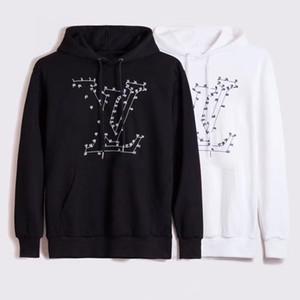 뜨거운 남성 의류 옴므 후드 스웨터 남성 여성 디자이너 후드 하이 스트리트 Supremo는 후드 스웨터 겨울 스웨터를 인쇄
