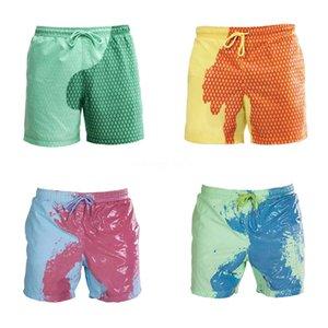 Stampa Uomini Costumi da bagno 2020 estate sexy costume da bagno slip a vita bassa costume da bagno Bulge Beach Wear Moda Breve Sport Homme Swim # 828