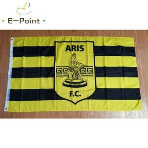 Drapeau de la Grèce Aris Salonique 3 * 5 pi (90cm * 150cm) Polyester drapeau décoration bannière de vol jardin maison drapeau cadeaux de fête