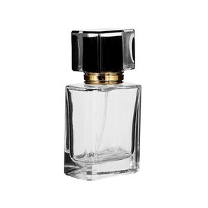 Vidrio Automizer Vacío envase cosmético 50ml / 30ml Para Ynzzio Claro Recarga de cristal del aerosol de perfume recargable Botellas de viajes aERQg