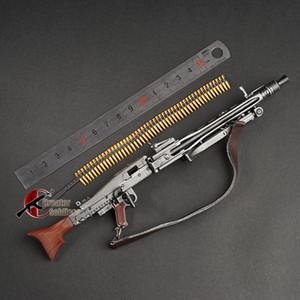 1: 6 MG34 MG42 MP44 98 K Otomatik Tüfek Makineli Tabancası Model Meclisi Plastik İkinci Dünya Savaşı Silah 1/6 Asker Askeri Oyuncak için