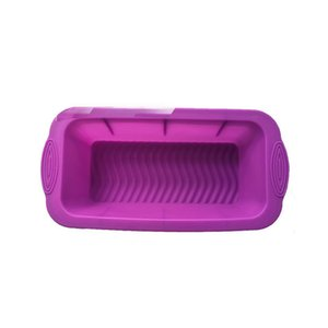 Non Stick Baking Tray Portable Home Kitchen Cake Loaf Tin Bread Dish Silicone