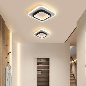 IRALAN moderne LED plafond lumières pour chambre chevet balcon Aisle couloir entrée LED moderne lampe de plafond pour la maison