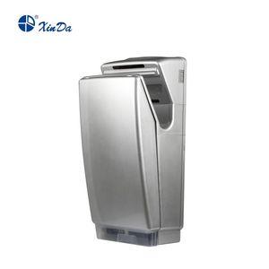 El sensor de infrarrojos automático Xinda GSQ 70A ABS de plata BLDC Profesional Jet secador de manos con filtro de aire de fibra y del tanque de agua