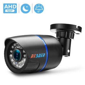 AHD 아날로그 높은 정의 감시 적외선 카메라 720 AHD CCTV 카메라 보안 야외 총알 카메라 감시 사이렌 알람