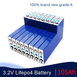 16PCS Оригинал 3.2V 105AH не 135AH LiFePo4 батареи Lithium железа сотовый для 12V 24V 48V ЕВА RV хранения солнечной энергии ЕС США Tax Free