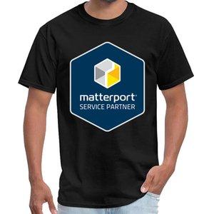 Printed Matterport Service Partner-Abzeichen T-Shirt homme coton Männer Senna t Shirt plus Größen S-5XL Hip-Hop