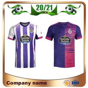 Unif 20/21 Real Valladolid calcio maglia 2020 Casa SERGI GUARDIOLA OSCAR PLANO ENES UNAL camicia di calcio Javi Moyano SANDRO TONI VILLA Calcio