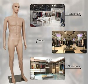 US STOCK 73 Inches Male Mannequin Full Body Dress Form Window Display Cosmetology For Clothes Tailor Dressing Model W38112733