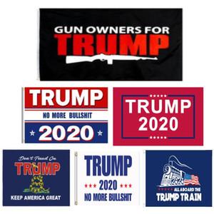 15 styles trump flag 2020 election trump flags print banner 90x150CM trump Flags OWD1912