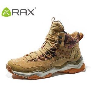 Rax Uomini Escursionismo Stivali Donne invernali impermeabile Mountain Climbing Shoes Maschile Viaggi Damping femminile esterno Scarpe B2753