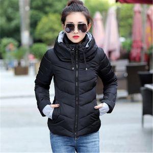 Zogaa S-3XL Plus Size Woman Winter Coat Female Jacket Parka Slim Fit Casual Padded Cotton Hooded Coat Windbreaker Women Parkas