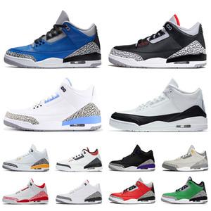 nike air jordon 3 retro jordans 3s jumpman mens zapatos para mujer de las zapatillas de baloncesto Fragmento 2020 unc Varsity Royal dril de algodón hombres libre Entrenadores