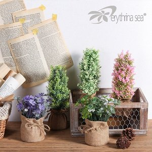 Erythrina Sea 1pc Lucky Clover Künstliche Pflanzen gefälschte Pflanzen Plantas Artificiales Para Decoracion X5XW #