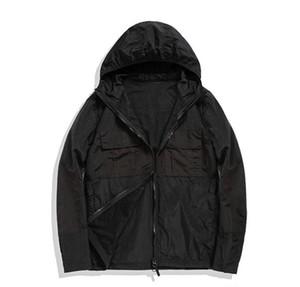 Taş Korsanlar ada 19 # ss Metal naylon ince Kapşonlu #Jacket Gömlek gözyaşı dayanıklı aşınmaya dayanıklı malzeme ceket Ücretsiz nakliye