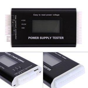 Dijital Lcd Pc Bilgisayar Pc Güç Kaynağı Tester 20/24 Pim 4 PSU Sata HDD ATX Btx Itx Sata Hd Güç Kaynağı Tester