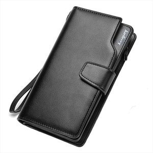 Baellerry mens wallet Business Clutch Coin pocket zipper purse 3 fold Phone purses Casual portfolio Multi card bit wallet new