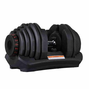 Adjustable Dumbbell 10-90lbs Fitness Workouts Dumbbells Weights Build Your Muscles Sports Fitness Supplies Party Favor ZZA2471 Sea Shipping