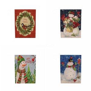 Bordado Bandeira Decorações de Natal Tassel Toalha de Mesa de Natal Sala de Estar da tabela do Natal oco Out Toalha Factory Direct # 584