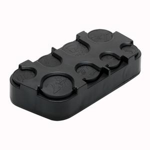 LEEPEE автомобилей Евро монет Case Автомобиль-стилизации деньги Контейнер Организатор Урны Уборка хранения Box Auto Монета Пластиковый держатель