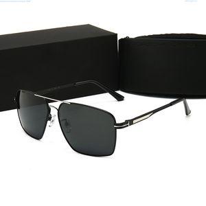 PORSCHE DESIG 8841 نظارات رجالي موضة النظارات الشمسية رجل Adumbral نظارات UV400 مع صندوق عالية الجودة نمط لون حار الأعلى