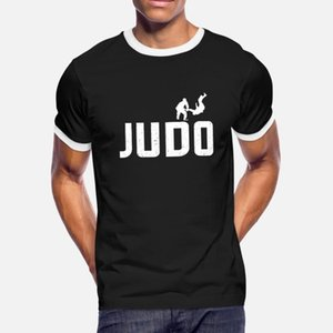 Judo Grappling Sport Animation Gift T Shirt Men Create Cotton O-Neck Gents Famous Breathable Spring Pattern Shirt