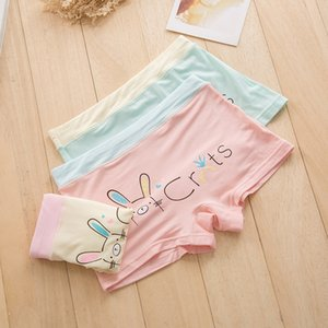 las muchachas de los calzoncillos modales bajo la ropa interior del boxeador pantalones de la ropa interior de los pantalones de los niños del bebé del boxeador