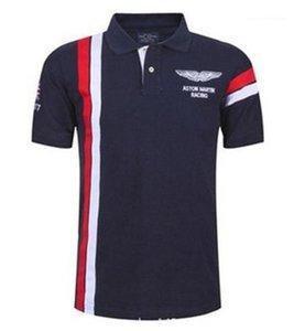 Designer Polo Estate manica corta risvolto Mens Tops Moda Tennis Sport Mens Tees Golf a righe Stampa Mens