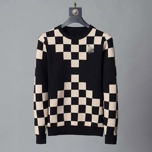 2020 de Homens New Designer Homens de Moda de revestimento da camisola das senhoras Autumn Sweater Cardigan Sweater Top # 8833 M-3XL