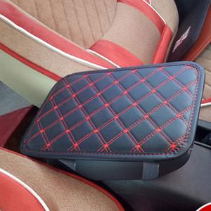 29x19cm coche apoyabrazos del cojín cojines del asiento universal Center Console Auto Apoyabrazos Caja de ratón Negro Apoyabrazos Protección de almacenamiento