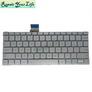 Mi Notebook Hava 12.5 İngiliz Gümüş Arka Işık 6037B01276019Z.ND6BV.001 ABD Laptop Klavye Değiştirme Klavyeler
