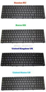 Von hinten beleuchtete Tastatur für Gigabyte P25K P25W V2 P25W-CF1 P25W-CF2 P25W-CF3 P25X V2 P25K-CF2 V111465ES1 Korea KR Russian RU English UK